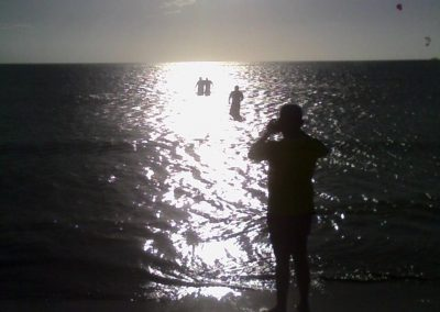 Ocean baptism